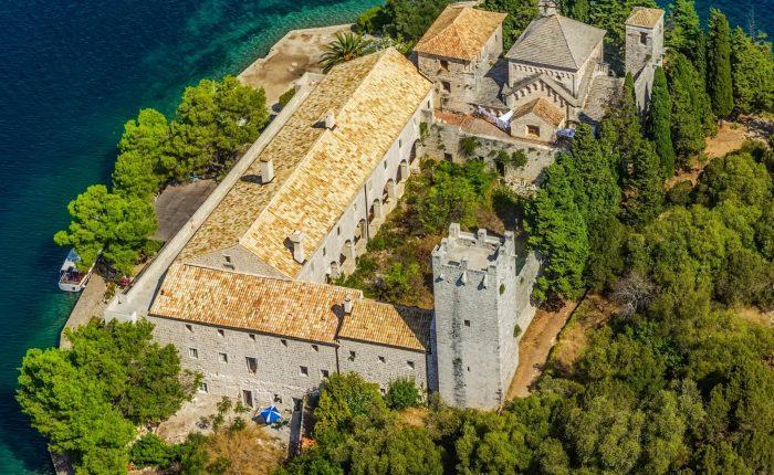 Mljet-Monastery of Saint Mary