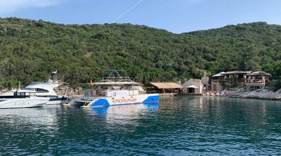 catamaran epidaurum at bowa