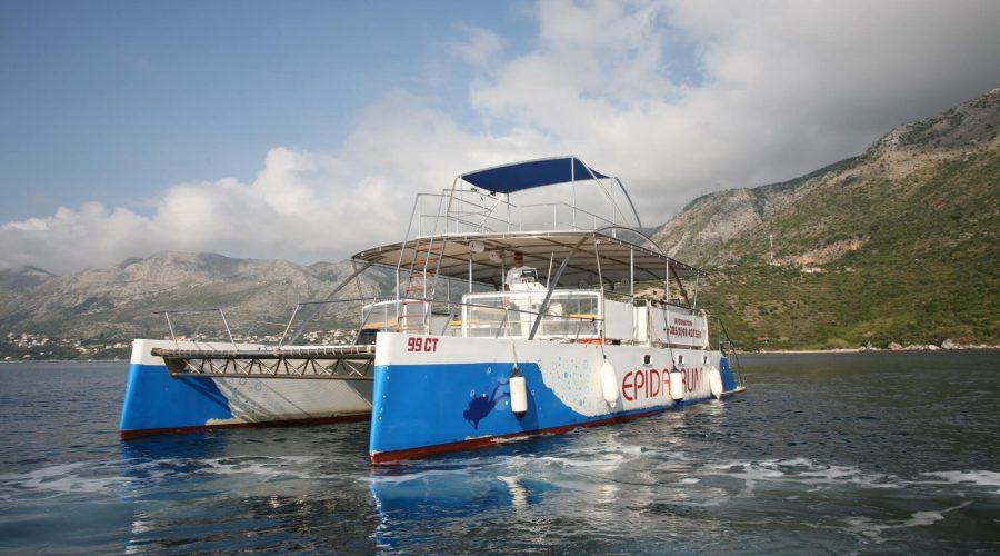 dubrovnik boat adventure catamaran