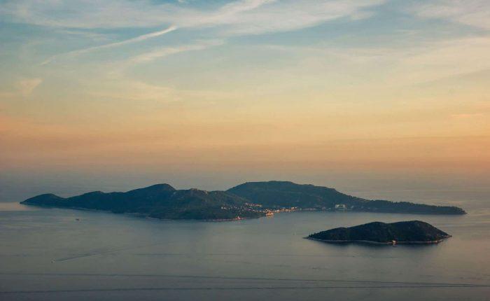 elaphite islands adriatic sea
