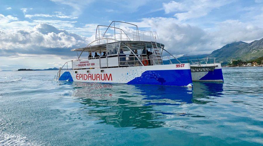 epidaurum catamaran