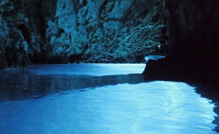 blue cave vis