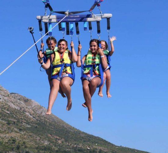 dubrovnik adventure parasailing