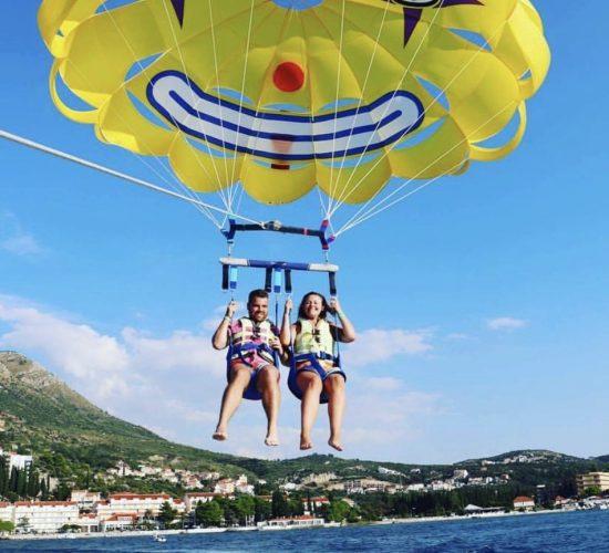 parasailing dubrovnik adventure